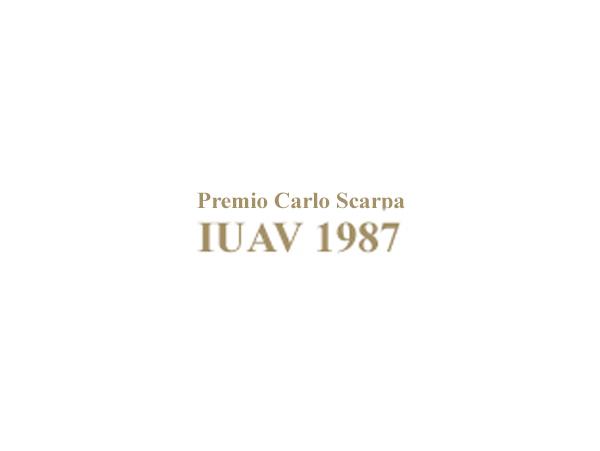 Premio Carlo Scarpa, 1987