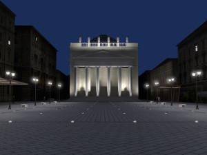 Parcheggio interrato e sistemazione di piazza S. Antonio a Trieste / Underground car park and rearrangement of Piazza S. Antonio in Trieste – 2006