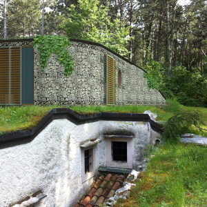 PROGETTO PER L'AMPLIAMENTO DI UNA VILLA IPOGEA SITA A PADRICIANO (TS) / – PROJECT FOR THE EXTENSION OF THE UNDERGROUND VILLA IN AREA PADRICIANO (PROVINCE OF TRIESTE)- 2014