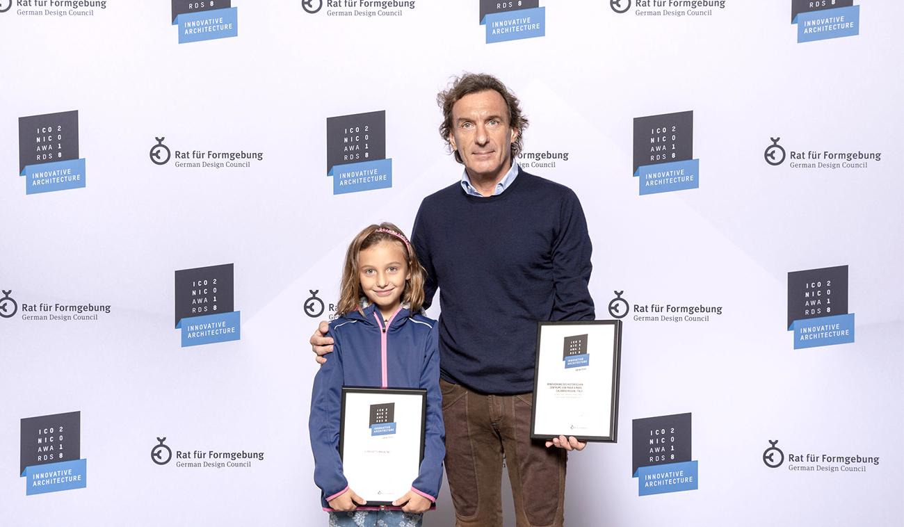 Premiazione Iconic Awards 2018, Munich, 8 ottobre 2018