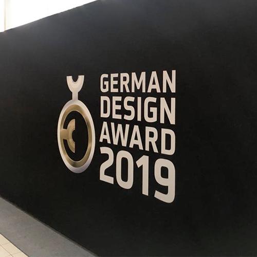 Premiazione German Design Award 2019
