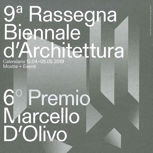9a Biennale di Architettura – PremioMarcello D'Olivo