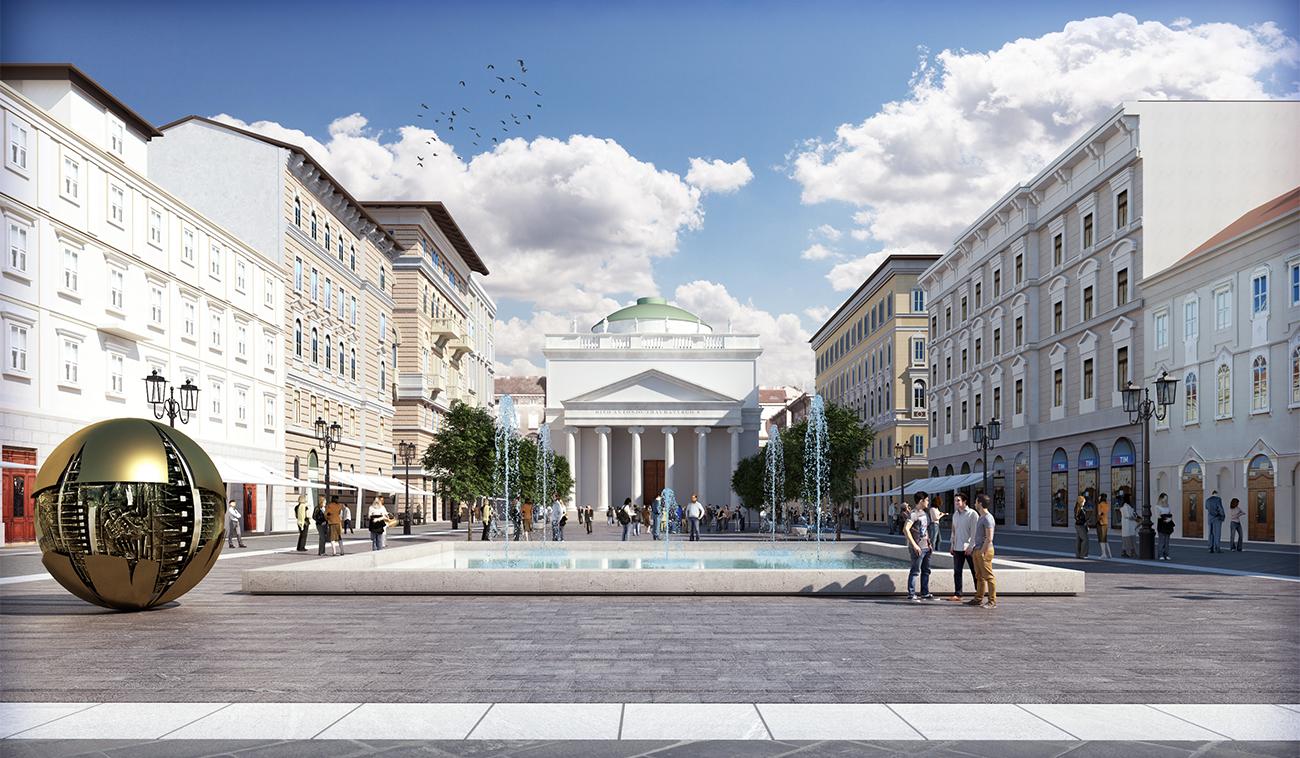 Riqualificazione di piazza Sant'Antonio, Trieste
