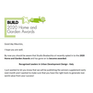 BUILD 2020 Home and Garden Awards